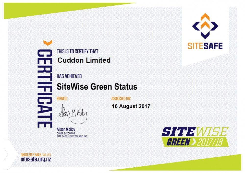 site safe cert